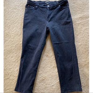 Style and Co Women's Petite Straight Leg Jeans EUC